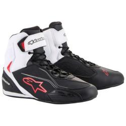 Alpinestars basquettes Faster-3 noir-blanc 48