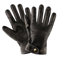 Belstaff gants cuir Montgomery noir L