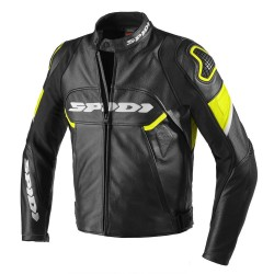 Spidi Jacket Ignite noir-jaune fluo 50