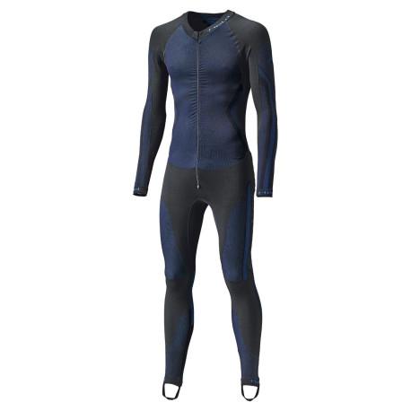 Held combinaison Race Skin II 1pièce noir-bleu L