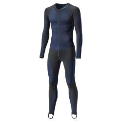 Held combinaison Race Skin II 1pièce noir-bleu XL