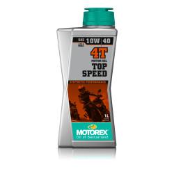 Huile Motorex Top Speed 4T 10W/40 1 L