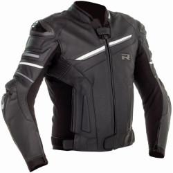 Richa veste cuir Mugello 2 noir-blanc 62