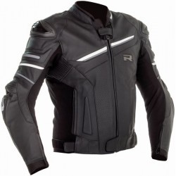 Richa veste cuir Mugello 2 noir-blanc 48