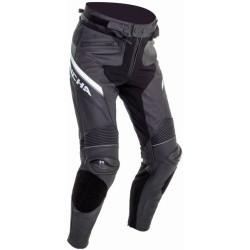 Richa pantalon cuir Viper 2 Street noir-blanc 50