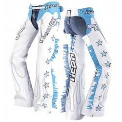 ICON KITTY CHAPS bleu L