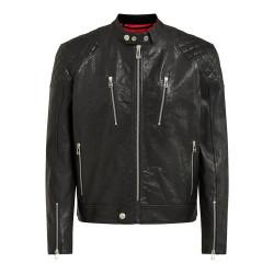 Belstaff veste cuir Cheetham noir 3XL