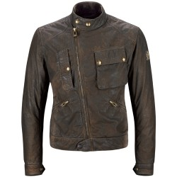 L Belstaff veste Imperial Waxcotton brun
