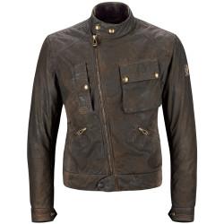 2XL Belstaff veste Imperial Waxcotton brun