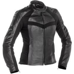 Richa veste cuir Catwalk dame noir 42