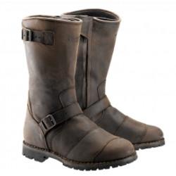 Belstaff bottes cuir Endurance brun 44