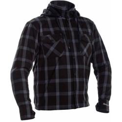 Richa chemise Lumber Hoodie gris 2XL