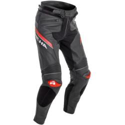Richa pantalon cuir Viper 2 Street noir-rouge 50
