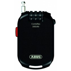 Cadenas antivol casques Abus Combiflex 2502/85cm câble 2mm