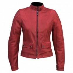 38 Belstaff veste cuir Fordwater antique Red