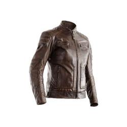 RST veste cuir dame Roadster II brun L