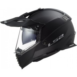 LS2 MX436 Pioneer Evo solid mat noir L