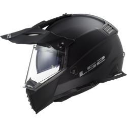 LS2 MX436 Pioneer Evo solid mat noir S