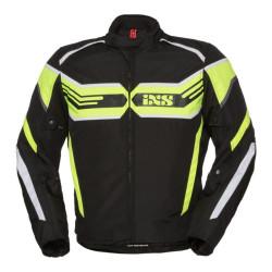 IXS veste Sport RS-400-ST noir-jaune-fluo-blanc M