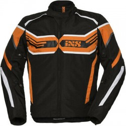 IXS veste Sport RS-400-ST noir-orange-blanc XL
