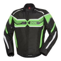 IXS veste Sport RS-400-ST noir-vert-blanc L