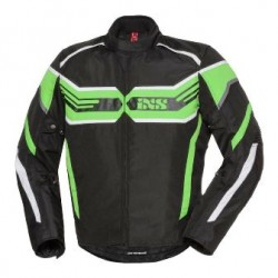 IXS veste Sport RS-400-ST noir-vert-blanc M