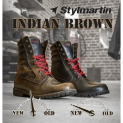 Bottes Stylmartin Indian Brun 43
