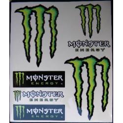 Autocollants Monster Energy MOD9