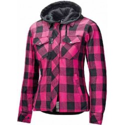 Held chemise dame Lumbarjack II noir-pink L