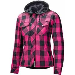 Held chemise dame Lumbarjack II noir-pink M