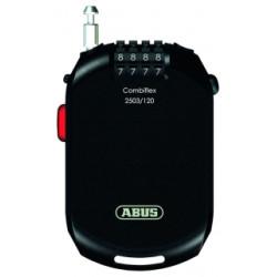 Cadenas antivol casques Abus Combiflex 2503/120cm diamètre 2,5mm