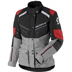 Scott veste dame Turn ADV DP noir-gris-rouge 40