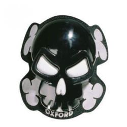 Oxford sliders Skull noir