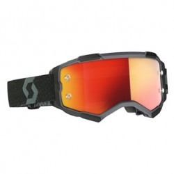 Scott Lunettes Fury noir/orange chrome