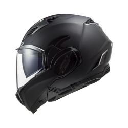 LS2 FF900 Valiant II Solid noir S