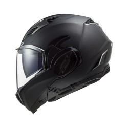 LS2 FF900 Valiant II Solid noir XS