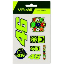VR46 Stickers Small Set 399703