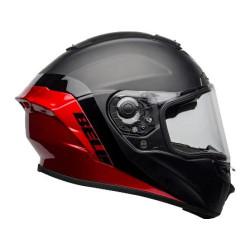 Bell casque Star MIPS Shockwave noir-rouge M