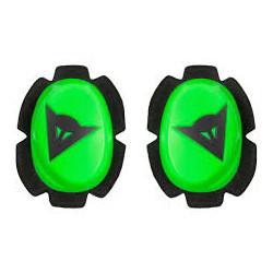 Dainese Pista Slider genoux noir-vert fluo