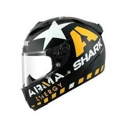 Shark RACE-R PRO Reddind MAT noir jaune blanc S