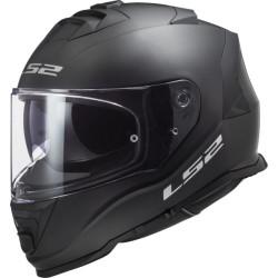 LS2 FF800 Storm Solid noir mat S