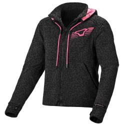 Macna jacket District Lady gris/noir/panthe L