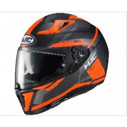 HJC i-70 Elim MC-6HSF noir-orange XXS