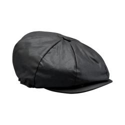 XXL BELSTAFF HISLOP BAKER BOY casquette noir