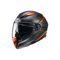 HJC F 70 Tino MC-7SF noir-orange XS
