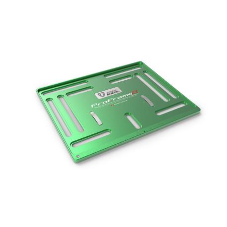 Support de plaque ProFrame 2 Viper Green