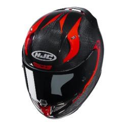 HJC R-PHA 11 Carbon Bleer noir-rouge L