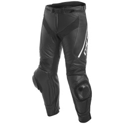 Dainese pantalon cuir Delta 3 noir blanc 48