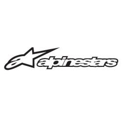 Sticker A-STARS noir 60x15cm