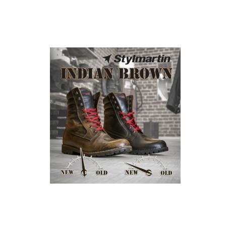 Bottes Stylmartin Indian Brun 42